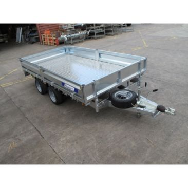 """Braked 14' x 6'6"""" Twin Axle Flatbed Trailer"""