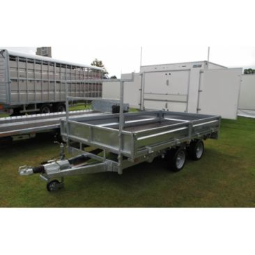 """Braked 10' x 5'6"""" Twin Axle Flatbed Trailer"""