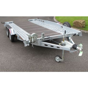 14'1 x 6'4 Fixed Bed Car Transporter Trailer