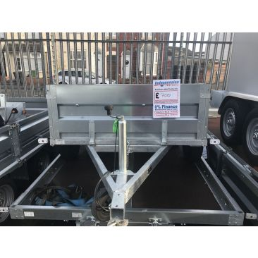 Erde Expert Steel Unbraked Trailer - West Midlands