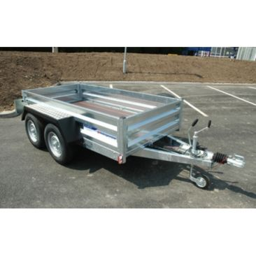Braked 8' X 4' Twin Axled Trailer