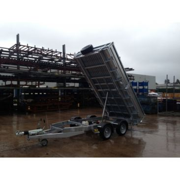 8'1 X 5'3 Electric Rear Tipper Trailer