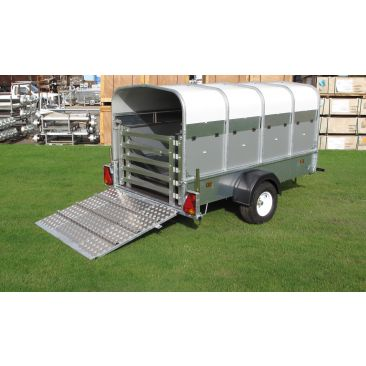 Unbraked 8' x 4' x 4'H Livestock Trailer
