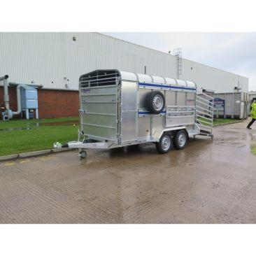 Twin Axle 12' x 6' x 6'H Livestock Cattle Spec Trailer