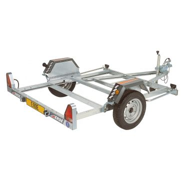 Motorcycle Trailer with 1M Loading Ramp (750kgs)
