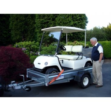 """Unbraked 6'6"""" X 4' Single Axle Trailer - With Ramptail"""