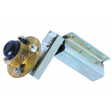 Indespension 350kg Extended Stub Axle, Unbraked Suspension Unit Complete With HU004