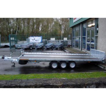 15'9 x 6'8  Tri-Axle Tiltdeck Car Transporter Trailer